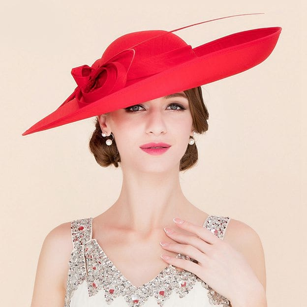 Ladies' Beautiful/Eye-catching Cambric Fascinators/Kentucky Derby Hats With Bowknot
