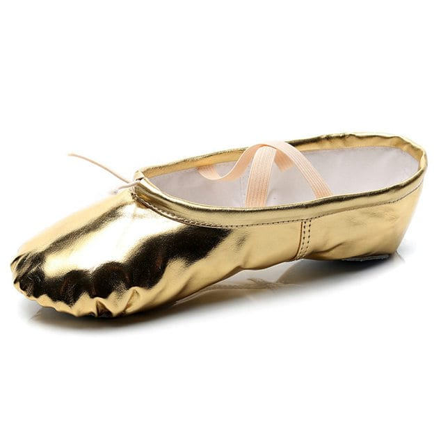 Unisex/Kids' PU Flats/Close Toe Dance Shoes