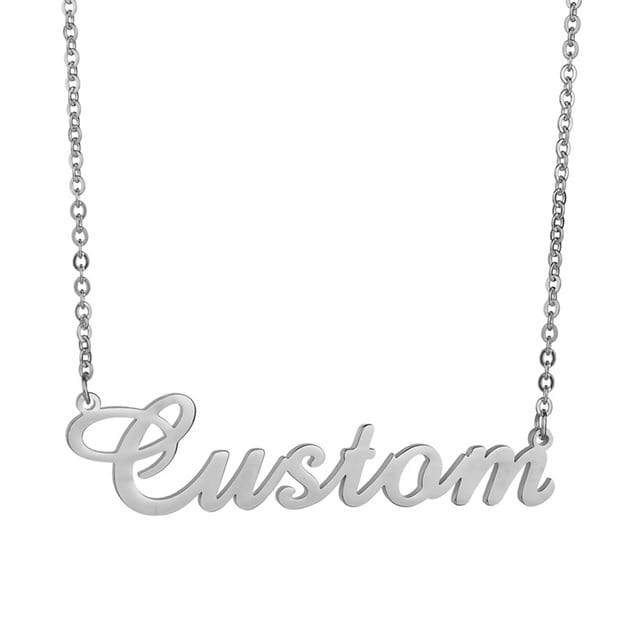Bridesmaid/Bride Gifts - Personalized Necklace